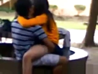 Paki Indian Public Sex On Bench
