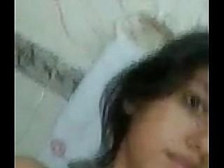 Pakistani Girl Komal showing here boobs