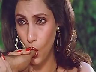 Sexy Indian Actress Dimple Kapadia Sucking Thumb lustfully Like Cock