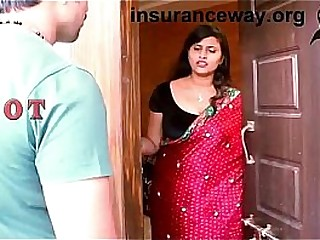 Indian house wife romance with who brings her lost Aadhar card