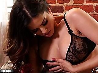 Black lingerie girl fucked