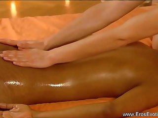 Loving Massage Between Females